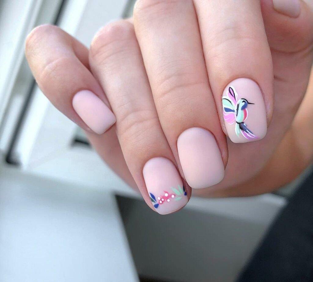 σχέδια σε ροζ νύχια - Oh My Beauty