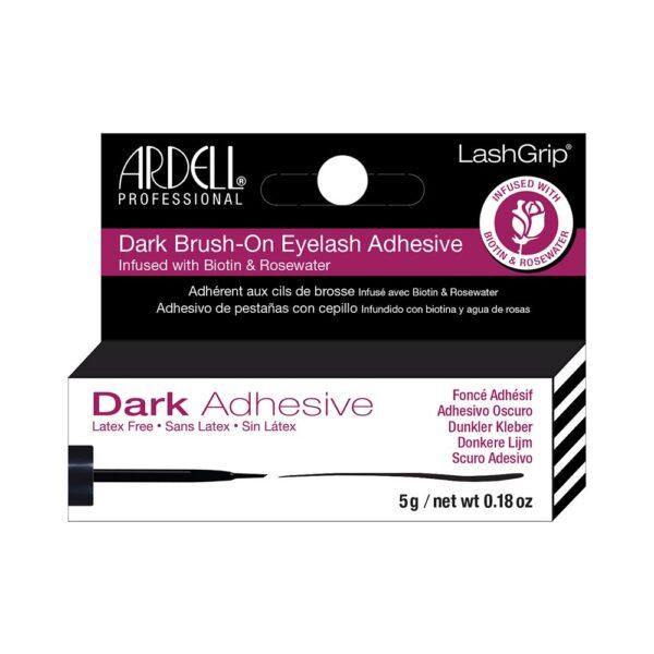 Ardell κόλλα με πινέλο μαύρη 5g