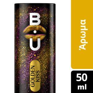 BU eau de toilette golden kiss 50ml