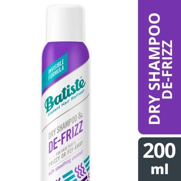 Batiste dry shampoo hair benefits de frizz 200ml