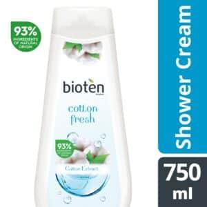 Bioten αφρόλουτρο cotton fresh 750ml