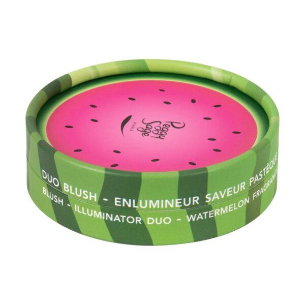 Διπλό ρουζ - λάμψη- watermelon fragrance 9g