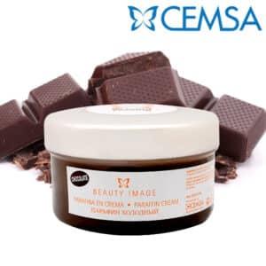 Κρύα παραφίνη σε κρέμα 190gr chocolate beauty image cemsa