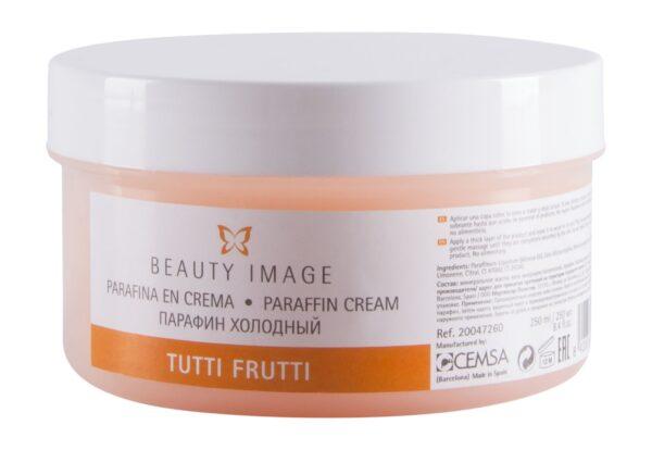 Κρύα Παραφίνη σε κρέμα 190gr tutti frutti beauty image cemsa