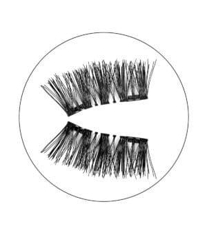 Μαγνητικές βλεφαρίδες magnetic false eyelashes amandine