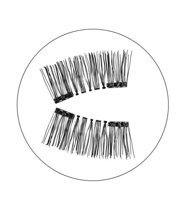 Μαγνητικές βλεφαρίδες magnetic false eyelashes audrey