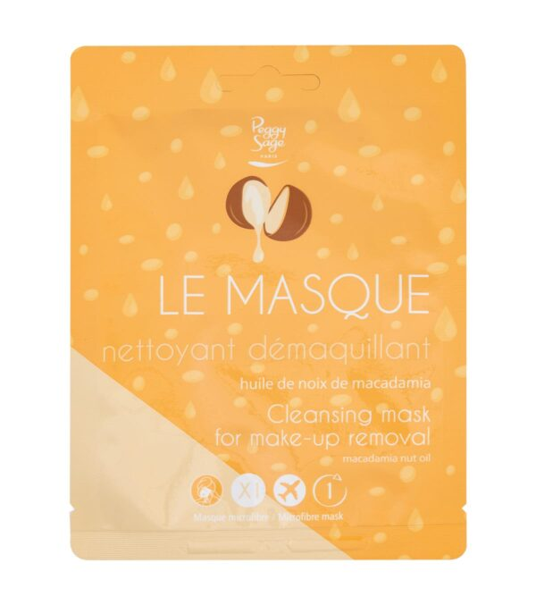 Μάσκα μικροίνες καθαρισμού και ντεμακιγιάζ x1