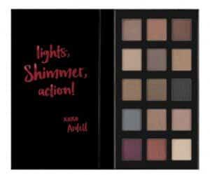 Pro eyeshadow palette shimmer