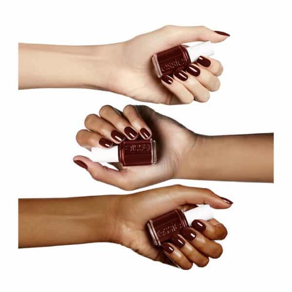 Βερνίκι essie color 85 chocolate cakes 2