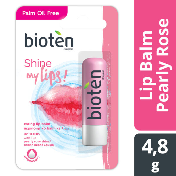 bioten lip balm pearl and rose 4,8g