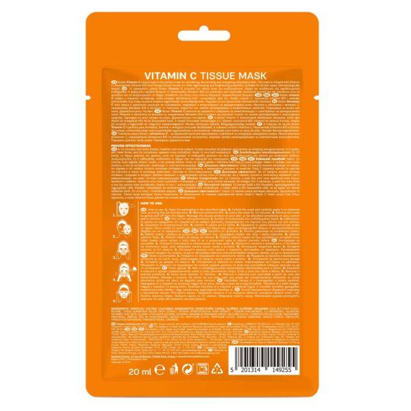Bioten υφασμάτινη μάσκα vitamin C 20
