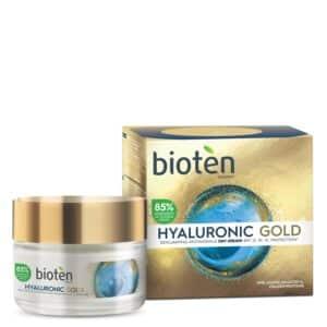 Bioten hyaluronic gold αντιρυτιδική κρέμα ημέρας 50ml