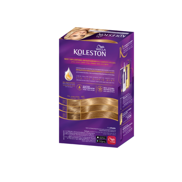 koleston wella krema vafhs 9/0 poly anoixto xantho