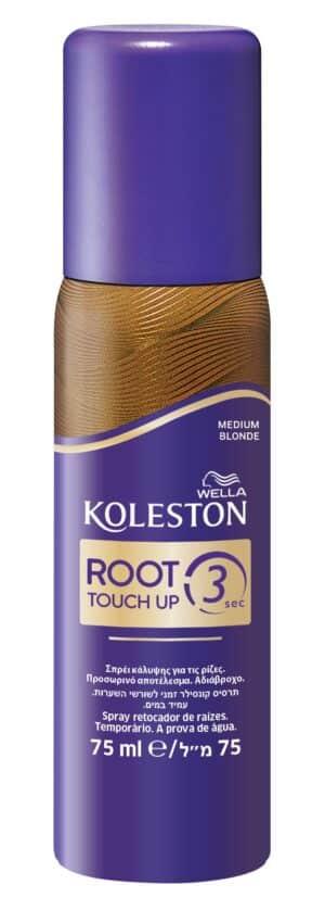 Spray ρίζας koleston root touch up 3 μεσαίο ξανθό
