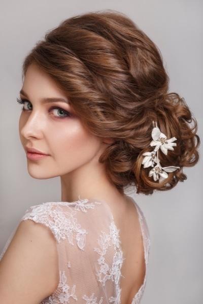 Ρομαντικό μακιγιάζ για νύφη