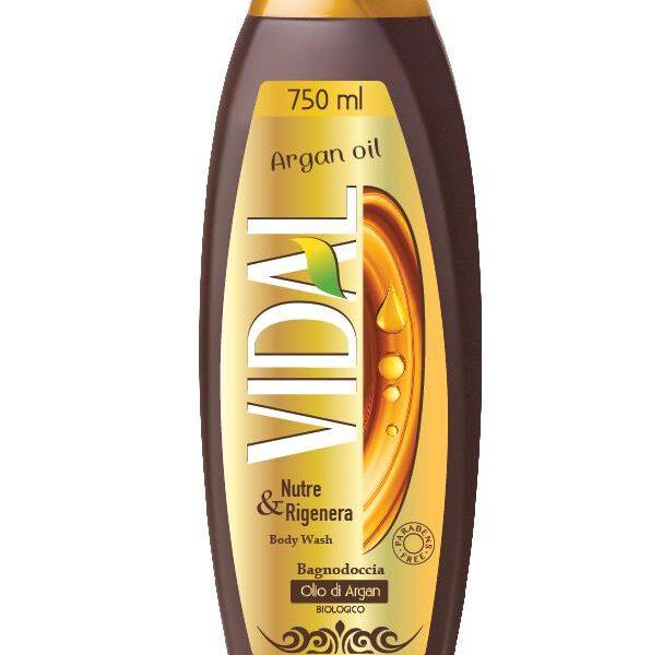 vidal αφρόλουτρο argan oil 750ml