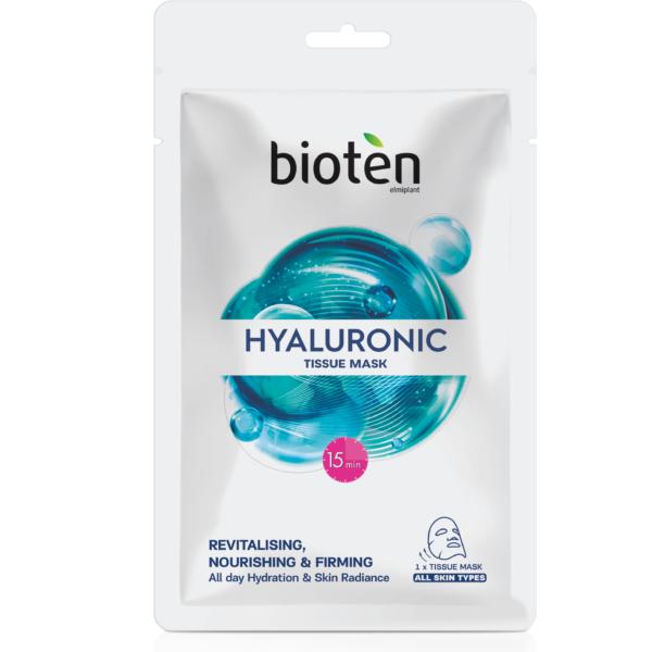 Bioten υφασμάτινη μάσκα hyaluronic 20ml