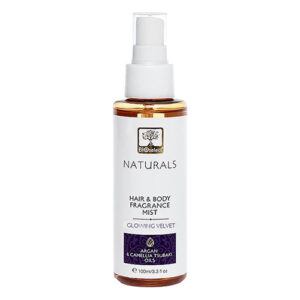 Bioselect naturals hair and body mist glowing velvet 100ml