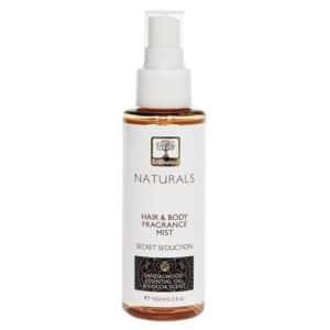 Bioselect naturals hair and body mist secret seduction 100ml