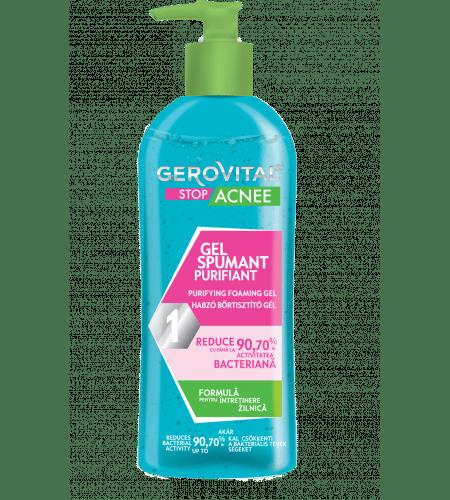 Gerovital αφρώδες αντιμικροβιακό gel 150ml