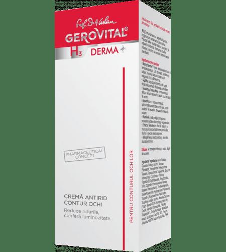 Gerovital αντιρυτιδική lifting κρέμα ματιών 15