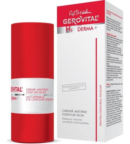 Gerovital αντιρυτιδική lifting κρέμα ματιών 15ml