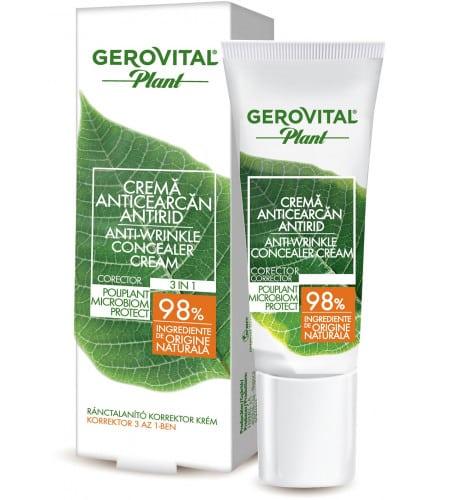 Gerovital αντιρυτιδικό concealer ματιών