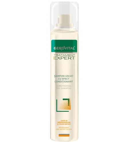 Gerovital dry shampoo για λιπαρά μαλλιά 200ml