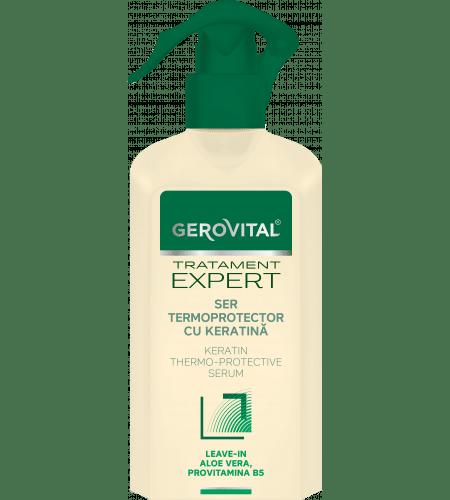 Gerovital ενυδατικός ορός μαλλιών με κερατίνη 150ml