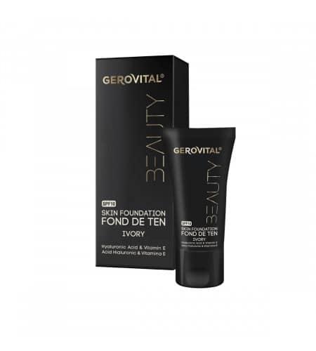 Gerovital foundation make up με υαλουρονικό οξύ και βιταμίνη Ε 30ml