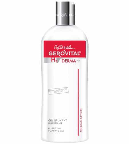 Gerovital καθαριστικό αφρώδες gel 200ml