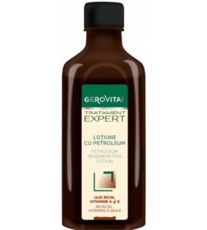 Gerovital λοσιόν μαλλιών με πετρέλαιο για αναδόμηση 100ml