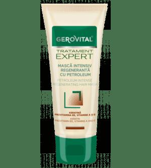 Gerovital μάσκα μαλλιών αναδόμησης με πετρέλαιο και κερατίνη 150ml