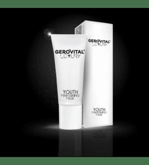 Gerovital μαύρη μάσκα ενεργού άνθρακα youth maintaining 100ml