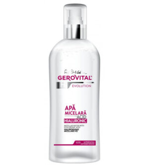 Gerovital micellar water με υαλουρονικό οξύ 150ml