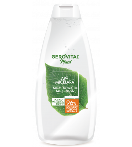 Gerovital micellar water microbiom protect 400ml