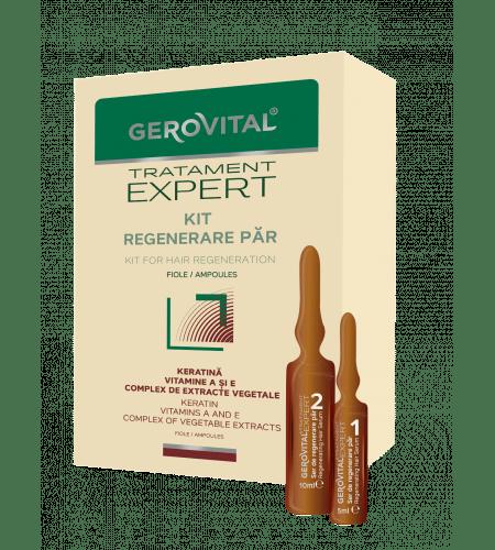 Gerovital πολυβιταμινούχες αμπούλες με κερατίνη για αναδόμηση