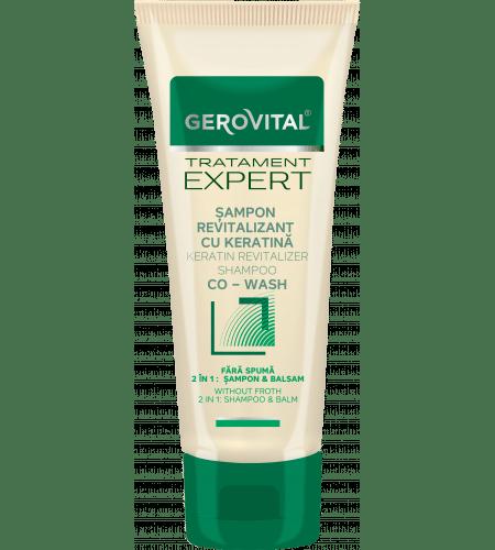 Gerovital σαμπουάν και conditioner με κερατίνη 150ml