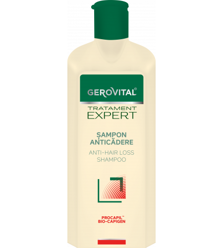 Gerovital σαμπουάν κατά της τριχόπτωσης 400ml