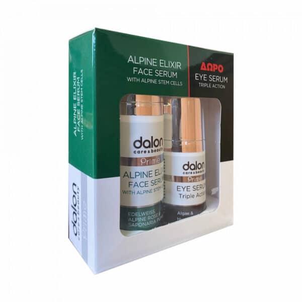Dalon gift box alpine face serum