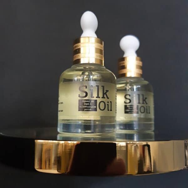 Λάδι για θεραπεία μαλλιών (silk oil) 30ml
